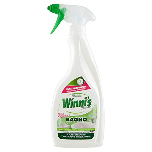 Winni'S - Naturel Detergente Bagno, Senza Risciacquo, Ipoallergenico - 500 Ml