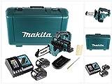 Makita DUC122RTE motosierra Negro, Azul - Sierra eléctrica (11,5 cm, 5 m/s, 25,4 / 4...