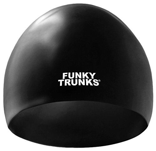FUNKY TRUNKS - CUFFIA SILICONE DA GARA - FT9800038 - STILL BLACK RACE CAP