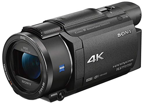 Sony FDR-AX53 - Videocamera 4K Ultra HD con Sensore CMOS Exmor R,...