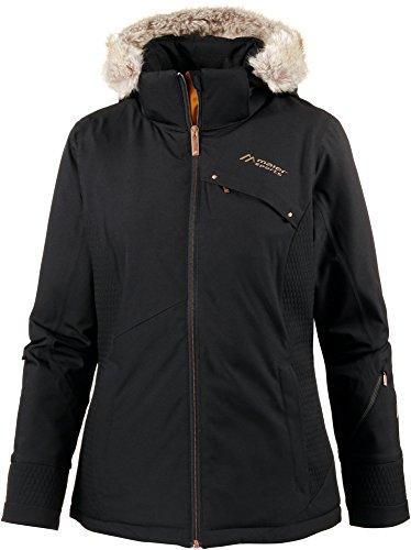 Maier Sports Damen Skijacke schwarz 46