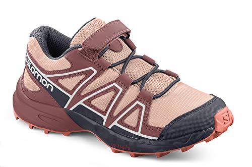 Salomon Kinder Speedcross Bungee, Schuhe für Trail Running und Outdoor-Aktivitäten ,Rosa (Tropical Peach/Apple Butter/Living Coral),29 EU