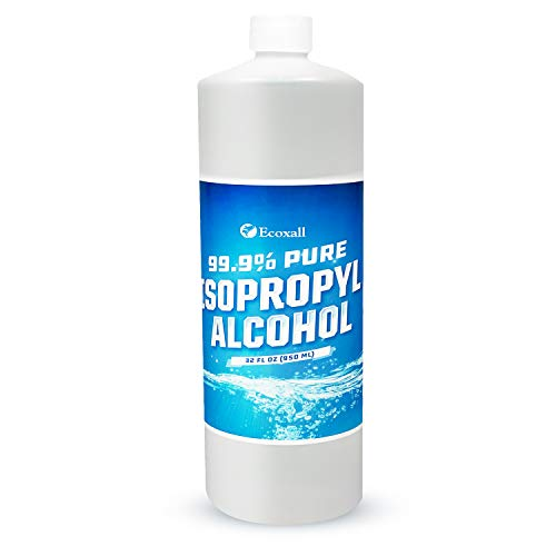 Premium Isopropyl Alcohol - 32 Fluid Oz - Technical Grade - 99.9% Pure - Isopropyl Alcohol - Rubbing Alcohol - Fastest Delivery - Ecoxall Chemicals