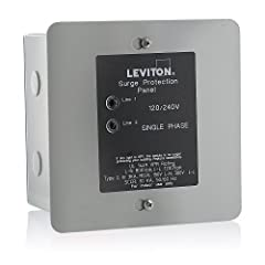 120/240 Volt Panel Protector 4-Mode Protection Real time diagnostic visual indicator shows power and suppression status for each protected phase Standard J-Box metal enclosures Compatible with Decora Home Controls Limited Lifetime 120/240 Volt Panel ...