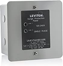 Leviton 51120-1 120/240 Volt Panel Protector, 4-Mode Protection, Light Commercial/Residential Grade, In NEMA 1 Enclosure