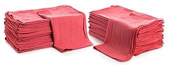Simpli-Magic 79101 Shop Towels 14 x12  50 Pack Red