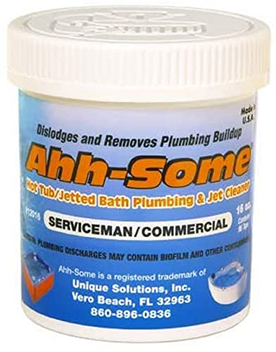 Ahh-Some- Hot Tub Cleaner | Clean Pipes & Jets Gunk Build Up | Clear &...