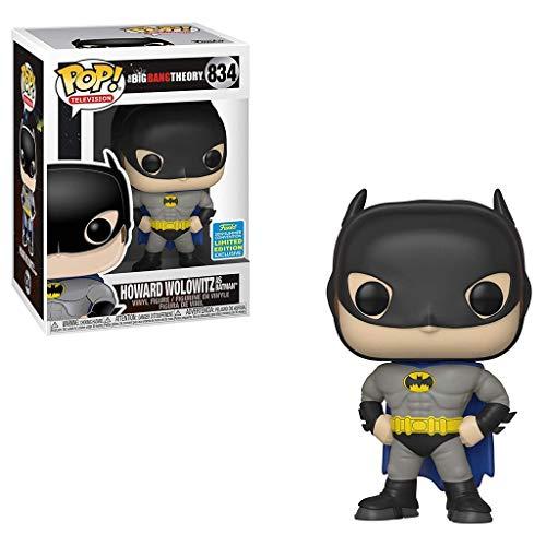Lotoy Funko The Big Bnag Therory #834 Howard Wolowitz as Batman Model