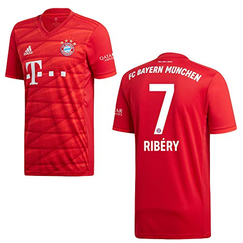 adidas Bayern Trikot Home Herren 2020 - Ribery 7, Größe:M