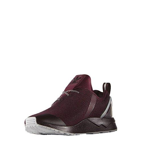 Adidas ZX Flux ADV Asym Women Sneaker Trainers (38 2/3, maroon/black)