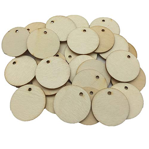 Wendysun 20Pcs Wooden Earring Accessories Wood Decorate Large Teardrop Blank Natural Unfinished Wood Beads 58mm*40mm Wood Jewelry Beads Supplies