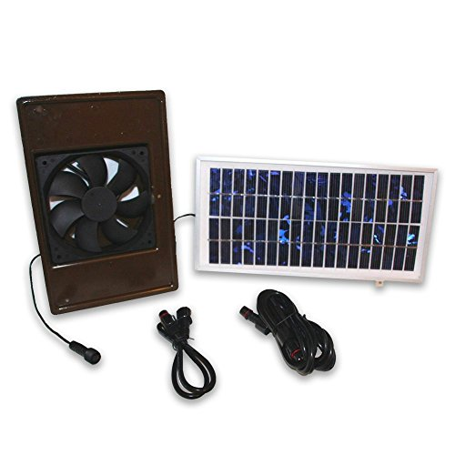ASL Solutions Dog Palace Breeze Solar Powered...