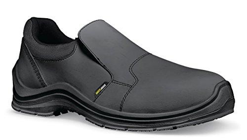 44//9.5/Delray pour homme d/écontract/é Cuir Chaussure Noir taille 9.5/UK antid/érapant Chaussures pour Crews 38649