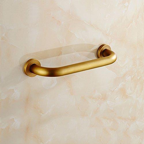 LI LU SHOP Tous Les Copper Toilet Main Word Antique Slip Barrière Free Passe-Main 30cm