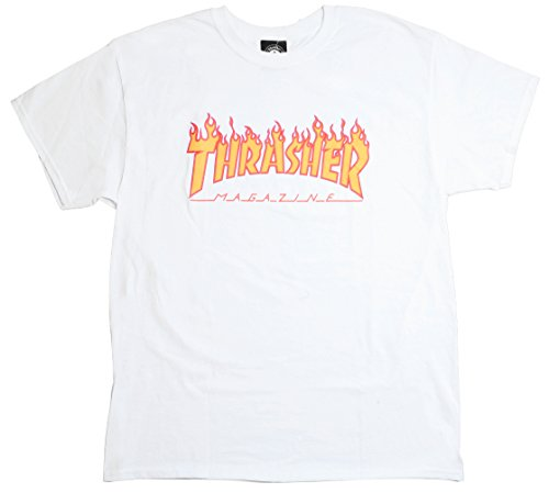 AMISA THRASHER MAGAZINE FLAME BLANCO - XL