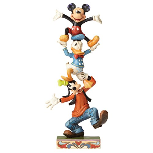 Disney Traditions - Figura Decorativa de Torre tambaleante.
