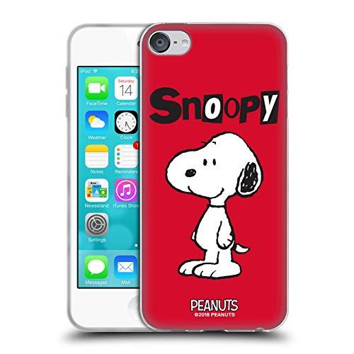 Head Case Designs Licenciado Oficialmente Peanuts Snoopy Personajes Carcasa de Gel de Silicona Compatible con Apple Touch 6th Gen/Touch 7th Gen