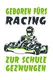 Go-Kart Motorsport Racing Notizbuch: Schönes Go-Kart Motorsport Racing Notizbuch mit 120 karierten Seiten im A5 Format
