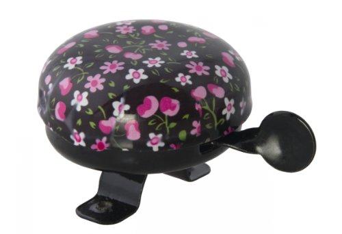 LIIX Pinke Blüten schwarz Glocke