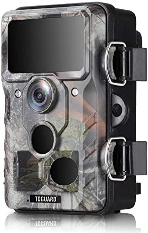 TOGUARD WiFi Trail Camera 20MP 1296P Hunting Game Cameras with 120 Monitoring Angle with Motion product image