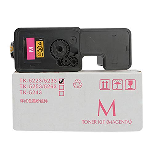 Lxf-xg Adecuado para KYOCERA TK-5240 Cartucho de tóner, Compatible Reemplazar Cartucho de tóner de la Impresora KYOCERA ECOSYS P5026CDN P5026CDW M5526CDN M5526CDW Láser,Magenta