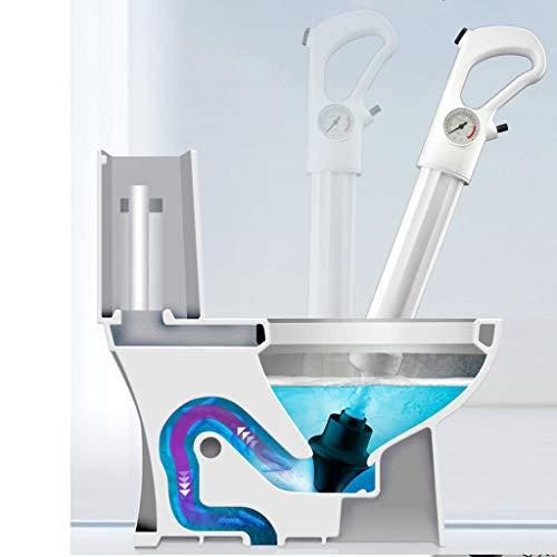 Abflußreiniger Toiletten Luftstößel leistungsstarker Abfluss-Kolben Stärkste Saugglocke für Toilettenverstopfung leistungsstarker Abfluss-Kolben mit Art Saugnäpfen Multifunktionale Reinigungspumpe