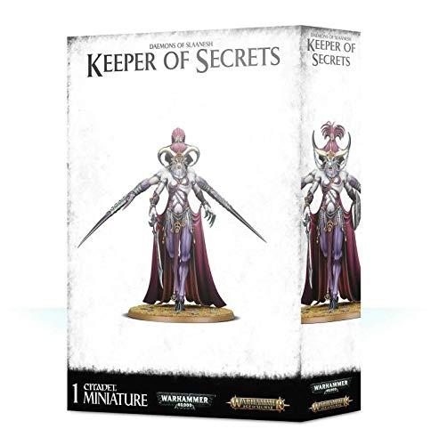 Games Workshop 97-06 DAEMONS of SLAANESH Keeper of Secrets in plastica da Montare e dipingere per Warhammer 40000 e Age of Sigmar
