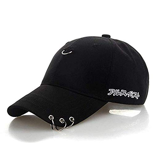 Gorra de béisbol unisex BTS Kpop Bangtan Wings Tour Jimin con hierro, anillo...