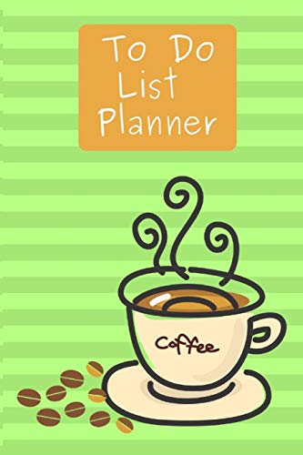 """To Do List Planner: Notebook Journal Novelty Gift for your Friend,6\""""x9\"""" Work Task with Checkboxes Checklist,100 Pages White Papers,Green cover"""