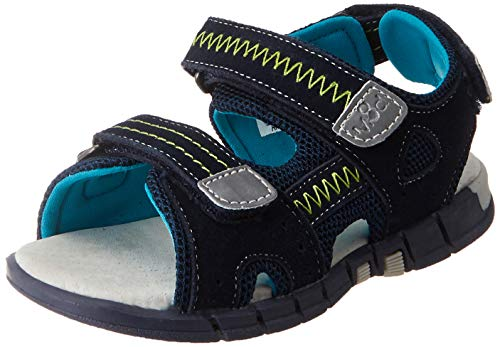 Mod8 Jungen Tribath Sandalen, Blau (Marine Turquoise 103), 24 EU
