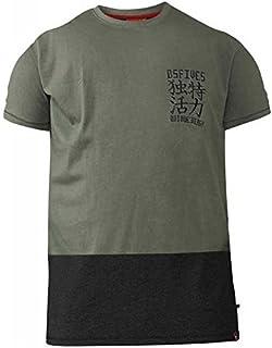 19ed4d2ed4224 hommes DUKE D555 grand haut tailles Supérieures Rueben T shirt