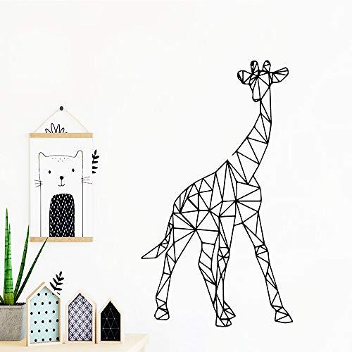 SFSDF Ciervos delicados extraíbles Arte Vinilo Pegatinas de Pared decoración Sala de Estar Dormitorio extraíble Mural Cartel 43x75 cm Oro