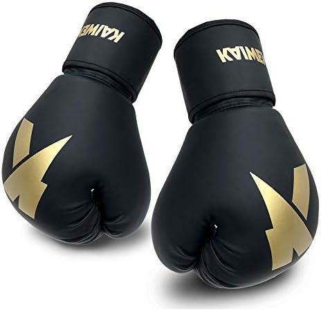 Boxing Gloves 6oz 8oz 10oz 12oz 14oz 16oz Punching Bag Mitts Muay Thai UFC MMA Kickboxing Fight product image