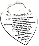Bridesmaid Gift For Sister
