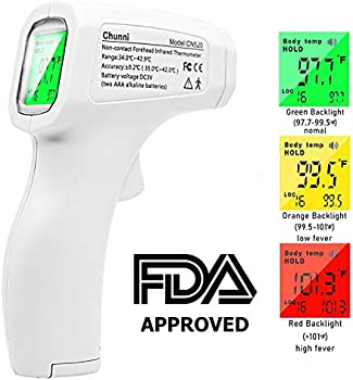 Argus Le Infrared Digital Thermometer with 3-Color LCD Display
