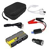 ZALAGA Capacidad 16000MAh Dispositivo de Arranque para AutomóVil Booster 12V Arrancador PortáTil para AutomóVil Arrancador de EnergíA Arrancador de AutomóVil Cargador de BateríA CP-F57