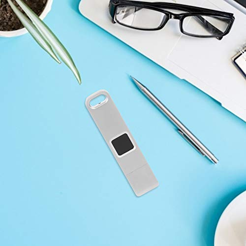 Bicaquu 32GB Fingerprint Recognition High‑Speed USB Flash Drive, U Disk, Compact for Preventing Information Being Disclosed Preventing Business Secrets Being Stolen