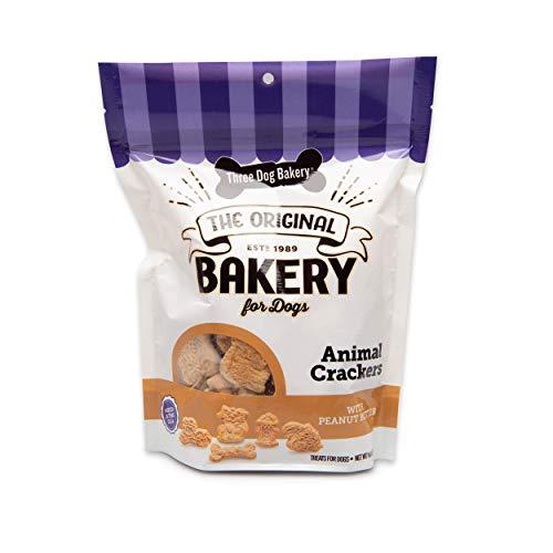 Three Dog Bakery Animal Crackers Premium Treats for Dogs Now $2.24 (Retail $6.99)
