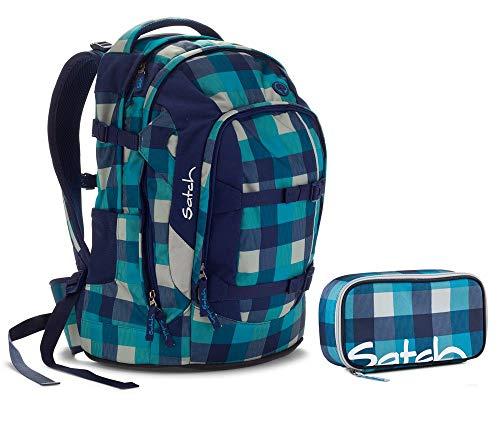 Satch Schulrucksack-Set 2-TLG Pack Blister Blau