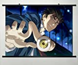 Parasyte Wall Scroll Poster Fabric Painting for Anime The Maxim Izumi Shinichi 005