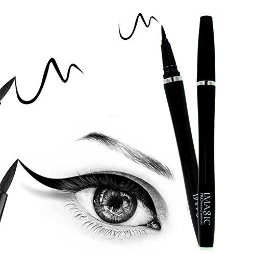 1 Stück Eyeliner Wasserfester Liquid Eye Liner Präziser Lidstrich Eyeliner Langanhaltend Schwarz