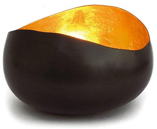 Teelicht Schale Goldlicht Swing bronzen/gold (ca.14cm) Teelichthalter