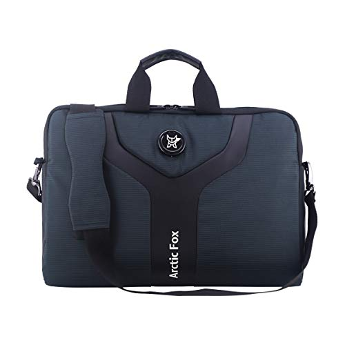 Arctic Fox Laptop Carry Case 15.5 Inch for Women and Men (Black)