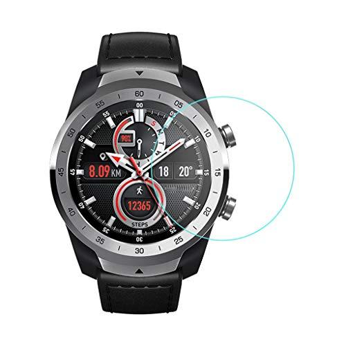 Schutzglas für Ticwatch Pro Watch,Transparente TPU R&umschutz 9H 0.2mm Full Glass Film Bildschirmschutzfolie Premium Glassschutzfolien Bildschirm Schutzfolie Folie