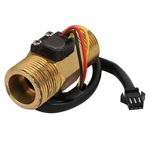 Aexit 2-60L / min Rango G3 / 4' 'Interruptor del caudalímetro del sensor de flujo de agua (model: C2254IIIVII-8366DH) con rosca macho