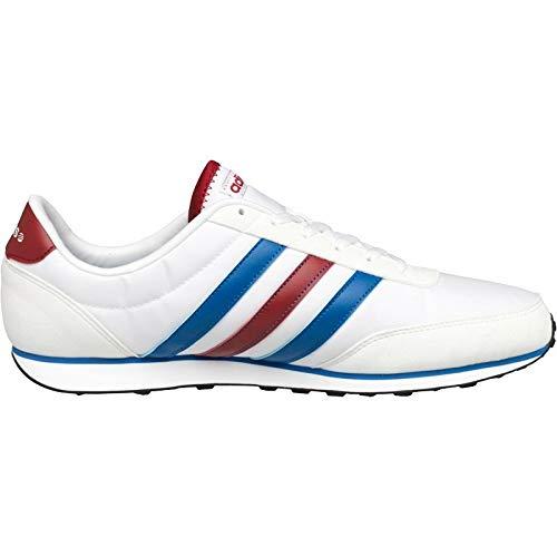 Adidas v Racer ftwwht/Blue/powred ftwwht/Blue/powred Talla:6