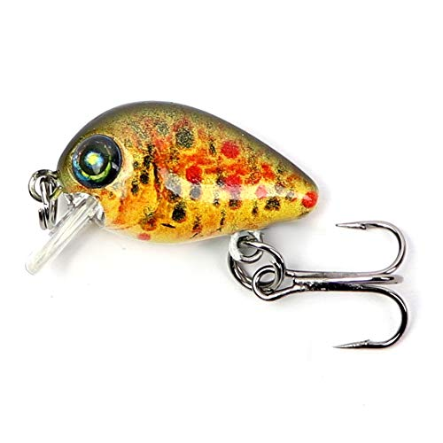 Major Fish UL Wobbler Mini Crank Forelle Barsch 29 mm Bachforelle