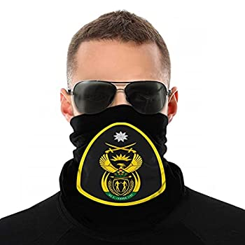 U.S Navy Security Forces Master-at-Arms  Ma  Badge Over Face Mask Shield Protective for Men & Women Fashion Variety Head Scarf Balaclava Black