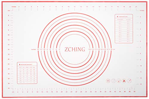 ZCHING Silicone Pastry Measurement Not-Slip...