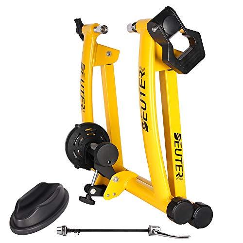 """CXWXC Rullo da allenamento cyclette, per bicicletta, con sgancio rapido, per bicicletta da 26-29"""", 700C"""